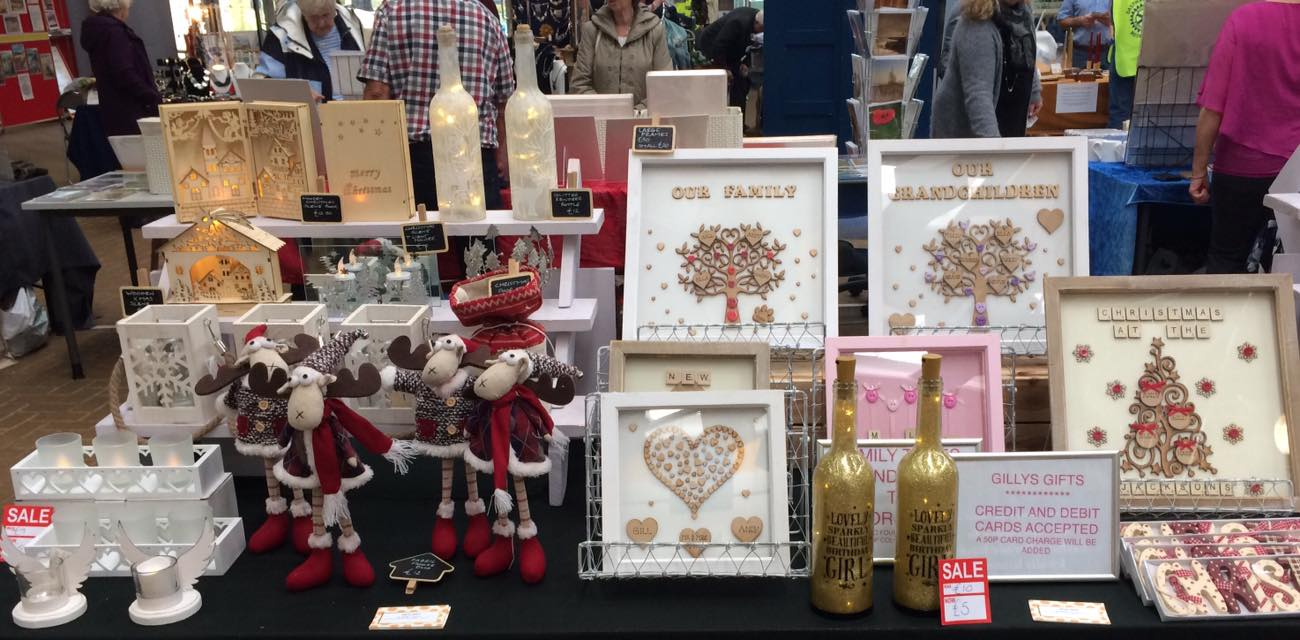 Charity Christmas Shopping Event Surrey Gifts