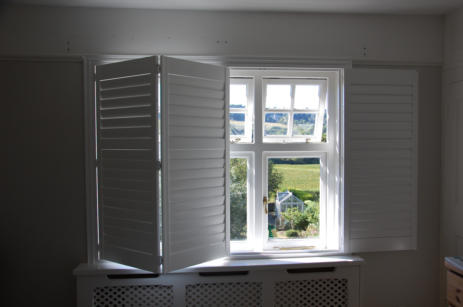 Country Shutters at Raycross Interiors