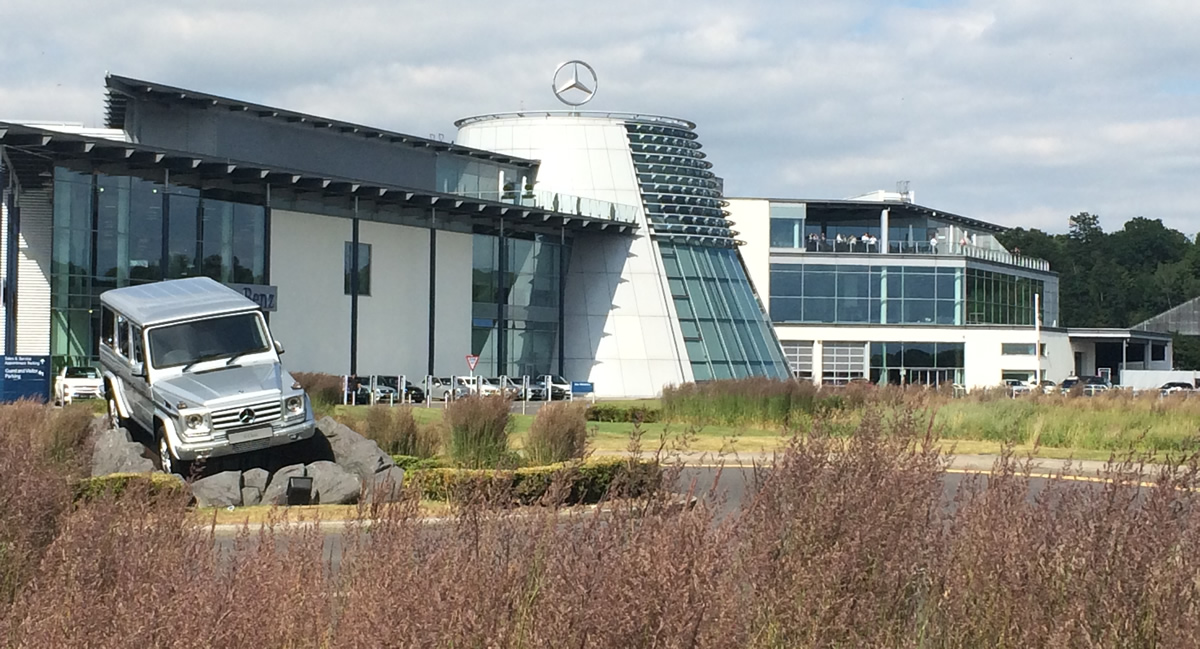 Win a Mercedes-Benz World Driving Experience