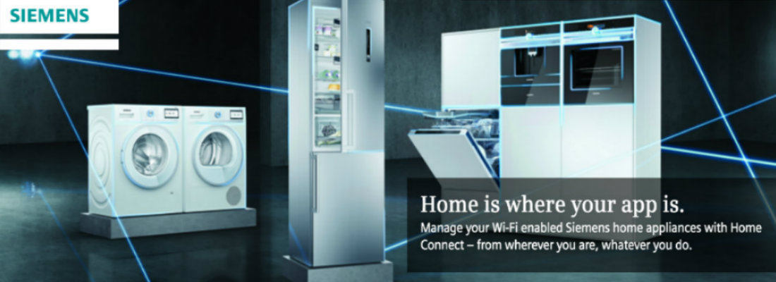 With Siemens Home Connect, Home is where your app is...