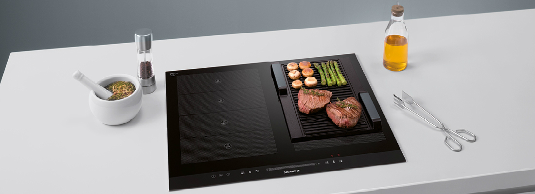 What's a stylish, contemporary kitchen without a Siemens Induction Hob?