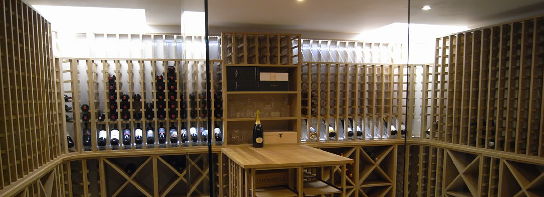 Bespoke Wine Storage to give that 'WOW' to your new Kitchen!