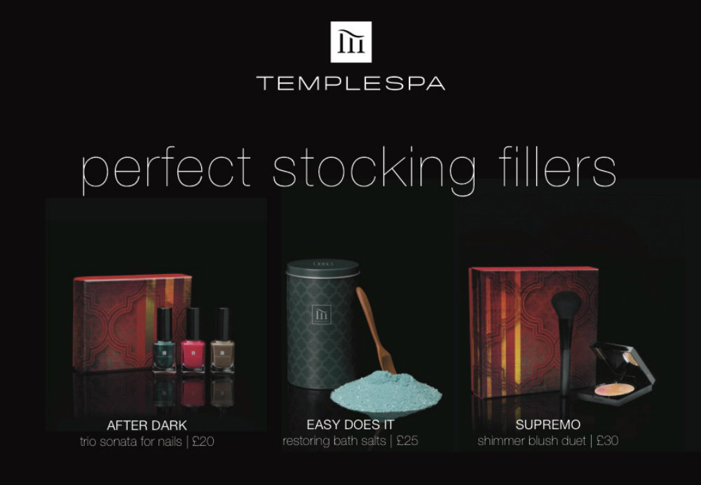 Temple Spa Christmas Shopping Event
