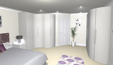 3D Visualisation - Bedroom Design