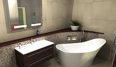 3D Visual Bathroom Design