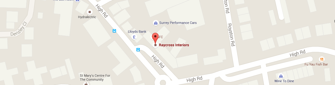 Raycross Interiors Showroom Location