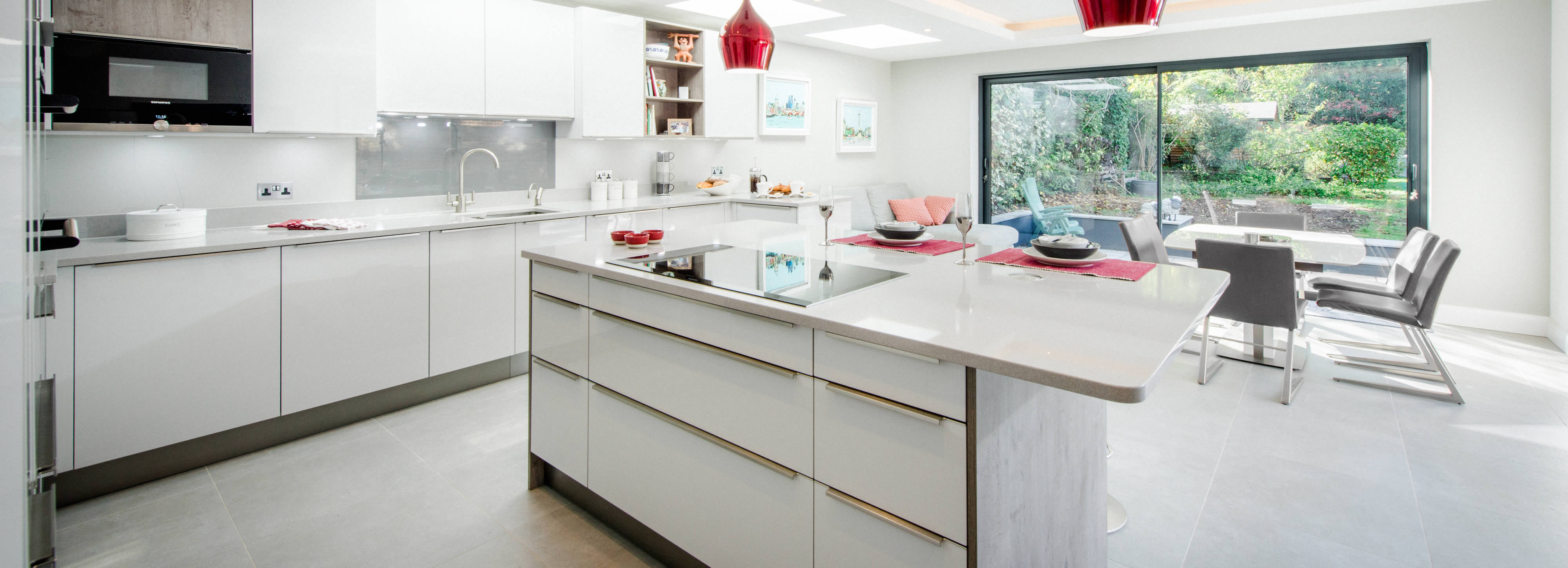 Contemporary kitchen design and installation, Surrey ...