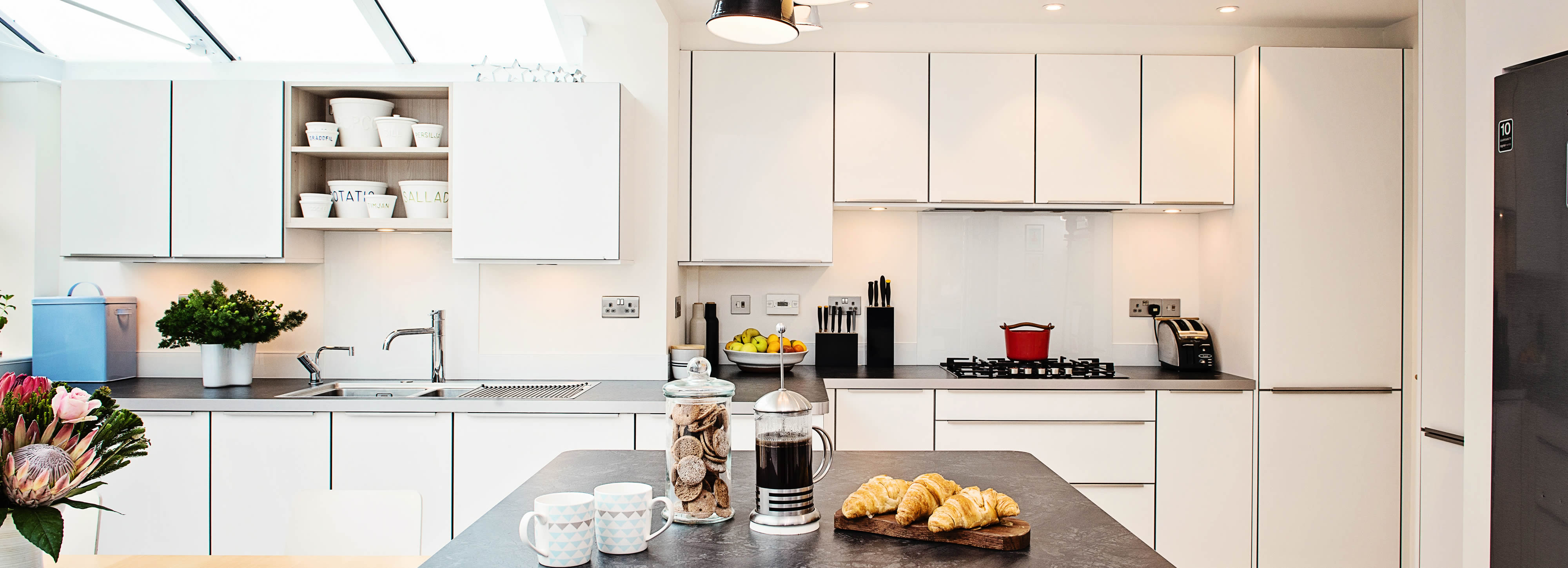 kitchens guide steel style rooms design kitchen contemporary white a and for hgtv