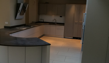 Curved Kitchen Progress