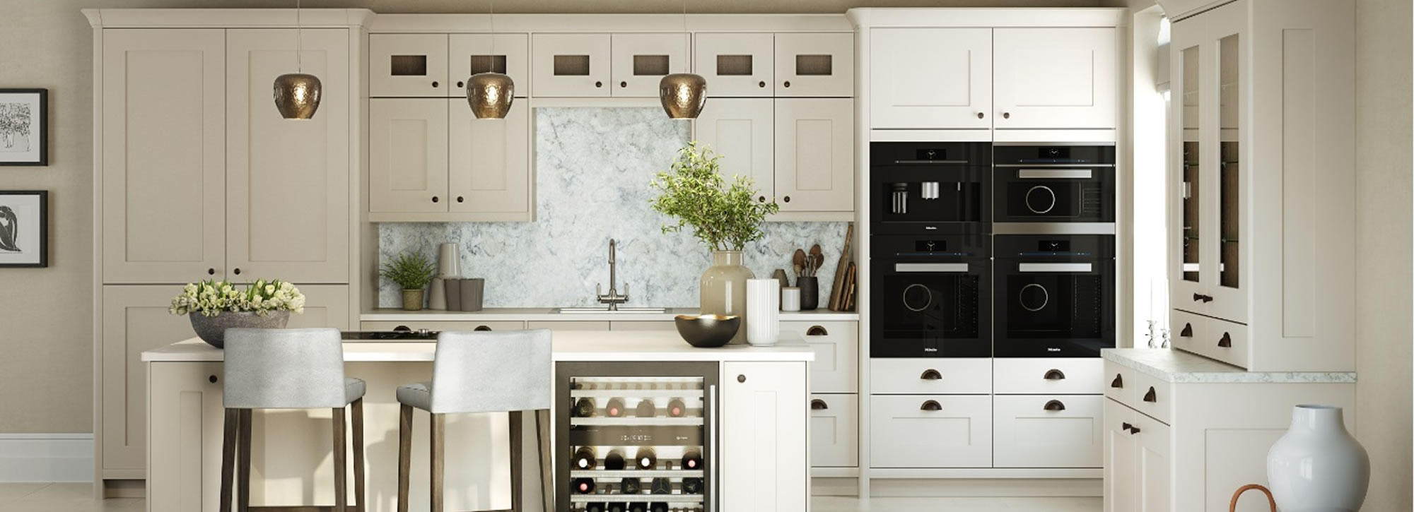 Painted kitchen design and installation surrey raycross for Kitchen cabinets surrey