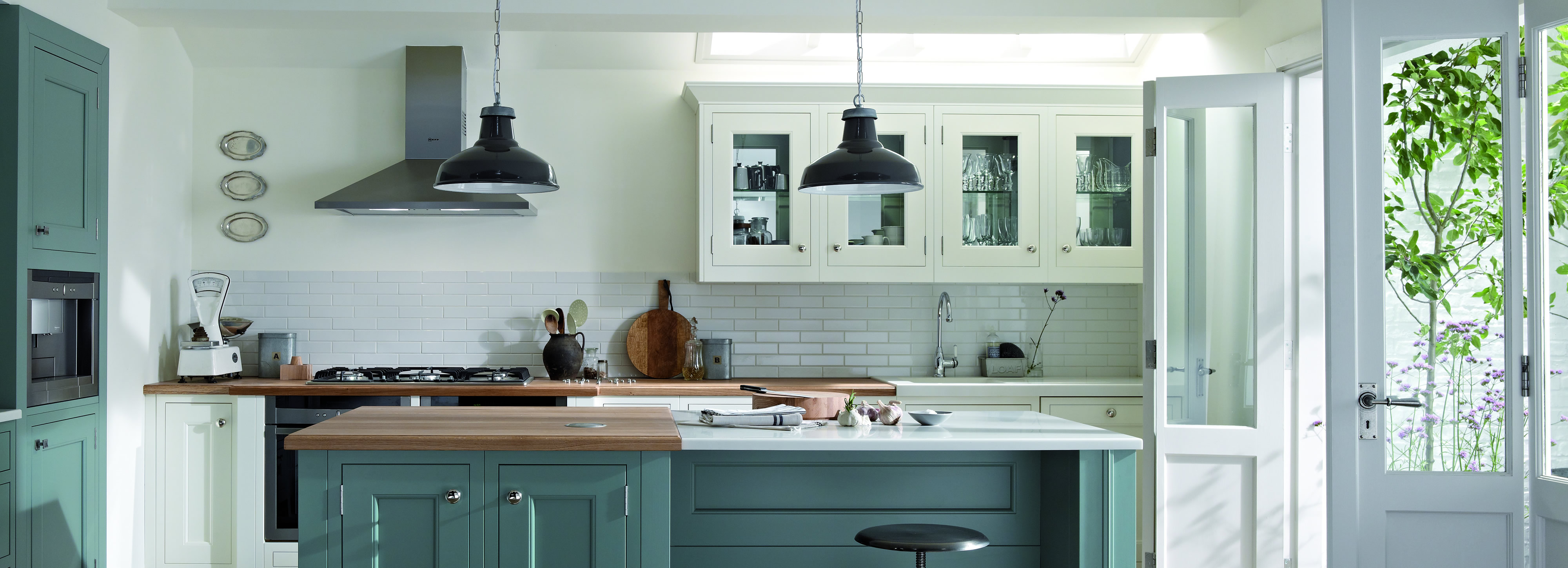 Painted Kitchens painted kitchen design and installation, surrey - raycross interiors